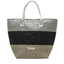 Μαύρη τσάντα θαλάσσης MariaMare AZUL