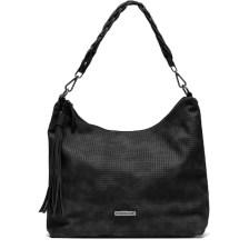 Μαύρη τσάντα ώμου MariaMare BIANCA