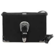 Μαύρη τσάντα χιαστή MTNG BLED