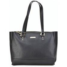 Μαύρη τσάντα ώμου Davd Jones CM3929