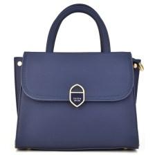Μπλε τσάντα χειρός Dimitra