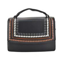 Μαύρη τσάντα ταχυδρόμου 2918