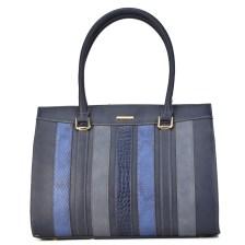 Μπλέ τσάντα ώμου David Jones BLUED