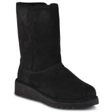 Μαύρο δερμάτινο Australian Boot 5865