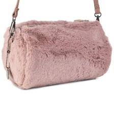 Ρόζ τσάντα βαρελάκι Diana & Co. DYH244-2