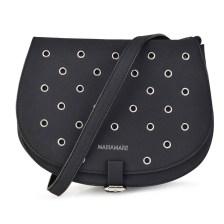 Μαύρη τσάντα ταχυδρόμου MariaMare EUGENIA