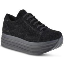 Μαύρο sneakers HiLo HLG100