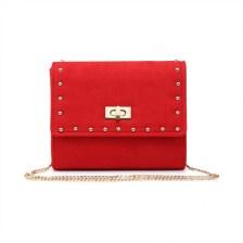 Κόκκινη τσάντα ώμου 8415