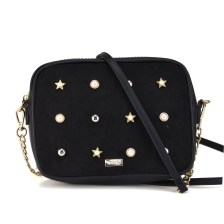 Μαύρη τσάντα χειρός MTNG PERLA
