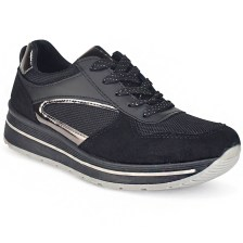Μαύρο sneakers 8606