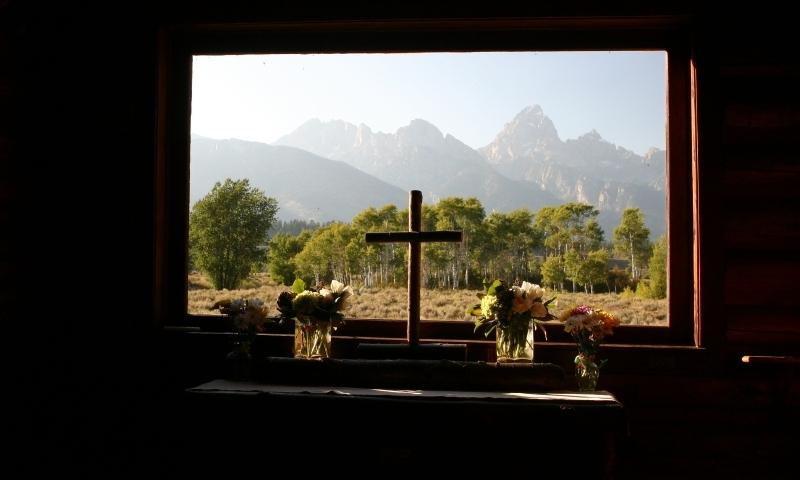 Chapel of the Transfiguration Grand Teton National Park  AllTrips