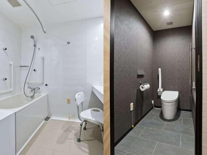 三井ガーデンホテル豊洲ベイサイドクロスのトイレとバスルーム
