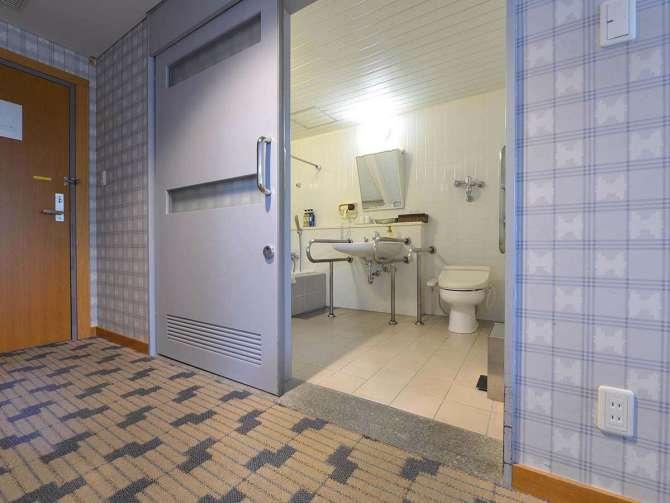 【大江戸温泉物語 日光霧降】バリアフリー洋室タイプ(72平米・4名可)バスルーム