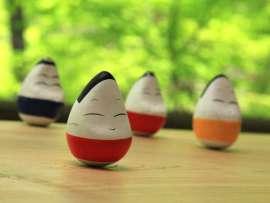 【起き上がり小法師】会津伝統工芸品の縁起物