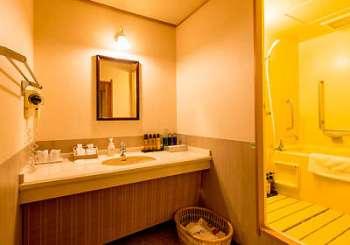 【瑞の里〇久旅館】和洋室(バリアフリー)バスルーム