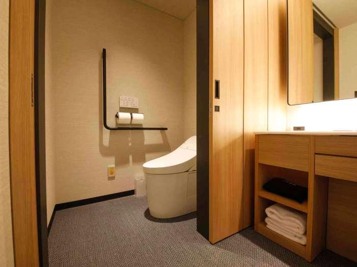 高山グリーンホテルのユニバーサルツイン トイレ