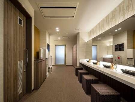 【リーガグラン京都】大浴場の脱衣所