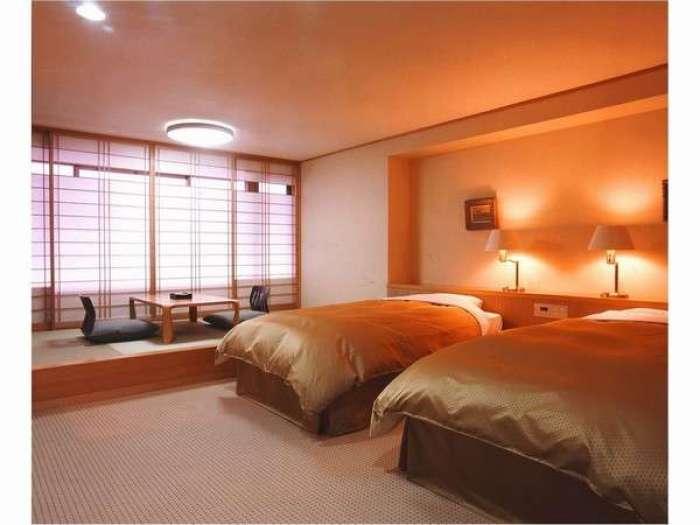 【ホテルふせじま】バリアフリー対応和洋室