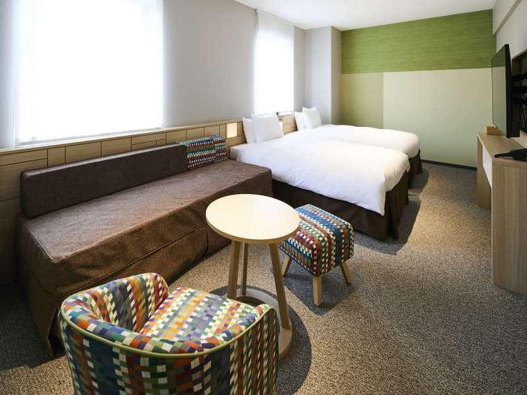ホテルインターゲートのファミリールーム(ユニバーサルルーム)
