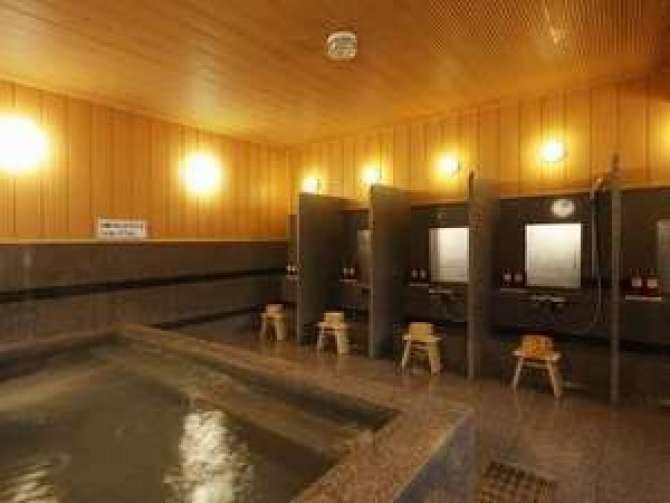 那須塩原【ビジネスホテル アジサイ】大浴場(男性用)