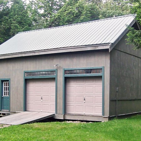 2 Car Garage Kits  Two Car Garage Plans  Jamaica Cottage