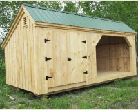 10x16 Shed Plans | Equipment Storage Shed | Woodshed Plans