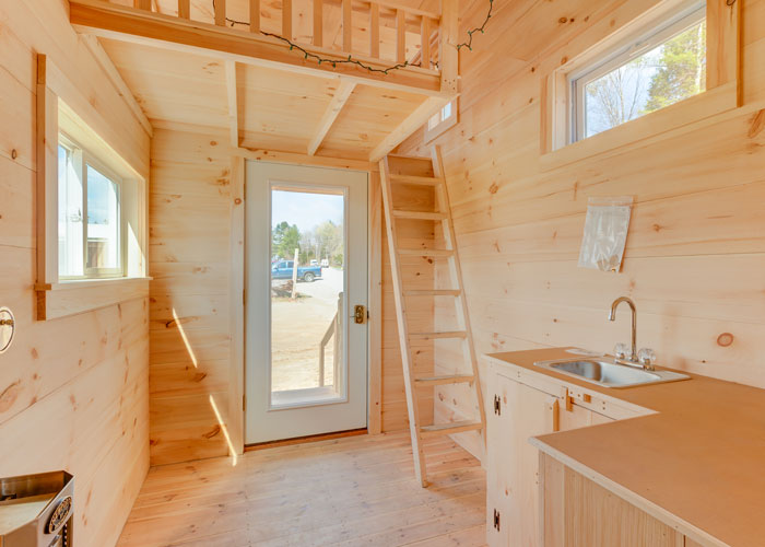 Tiny House Trailer Interior