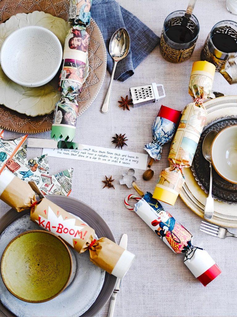 How To Make Homemade Christmas Crackers Jamie Oliver