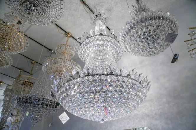Lighting Originals Large Crystal Chandelier