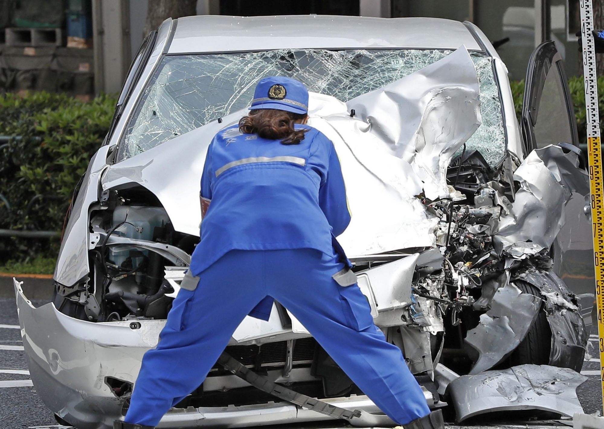 Traffic Accident Investigator Cover Letter 87 Year Old Driver In Tokyo Car Crash That Killed Mom Daughter