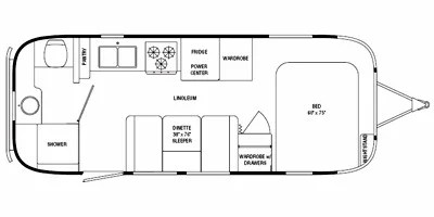2010 Airstream Flying Cloud Series M-23FB Specs and