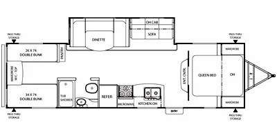 2012 Coachmen by Forest River Freedom Express Series M-292