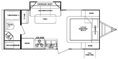 2014 Cruiser RV Shadow Cruiser Series M-195 WBS Specs and