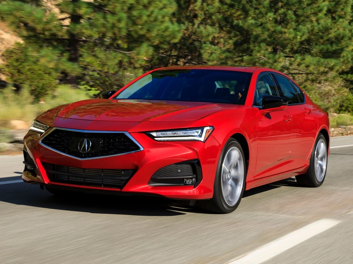 2021 acura models include redesign