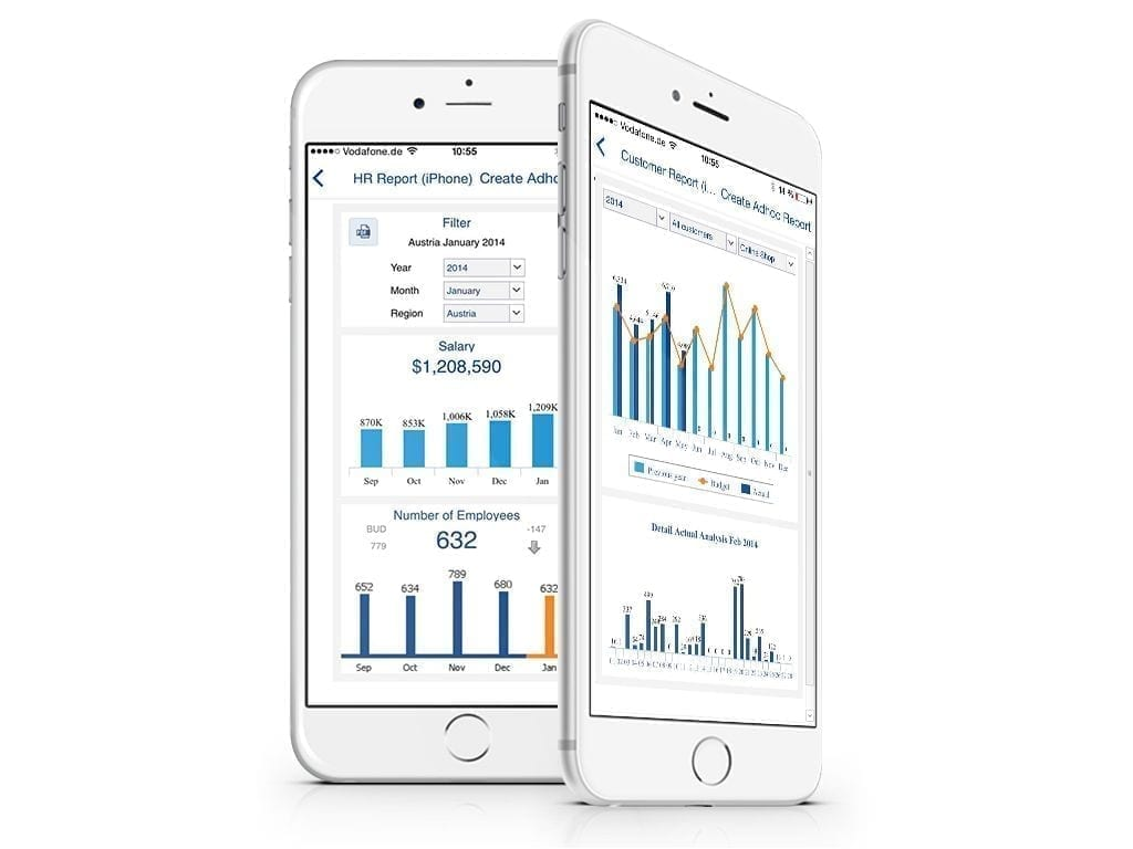 Jedox Mobile App for Corporate Performance Management