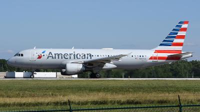 N107US - Airbus A320-214 - American Airlines - Flightradar24