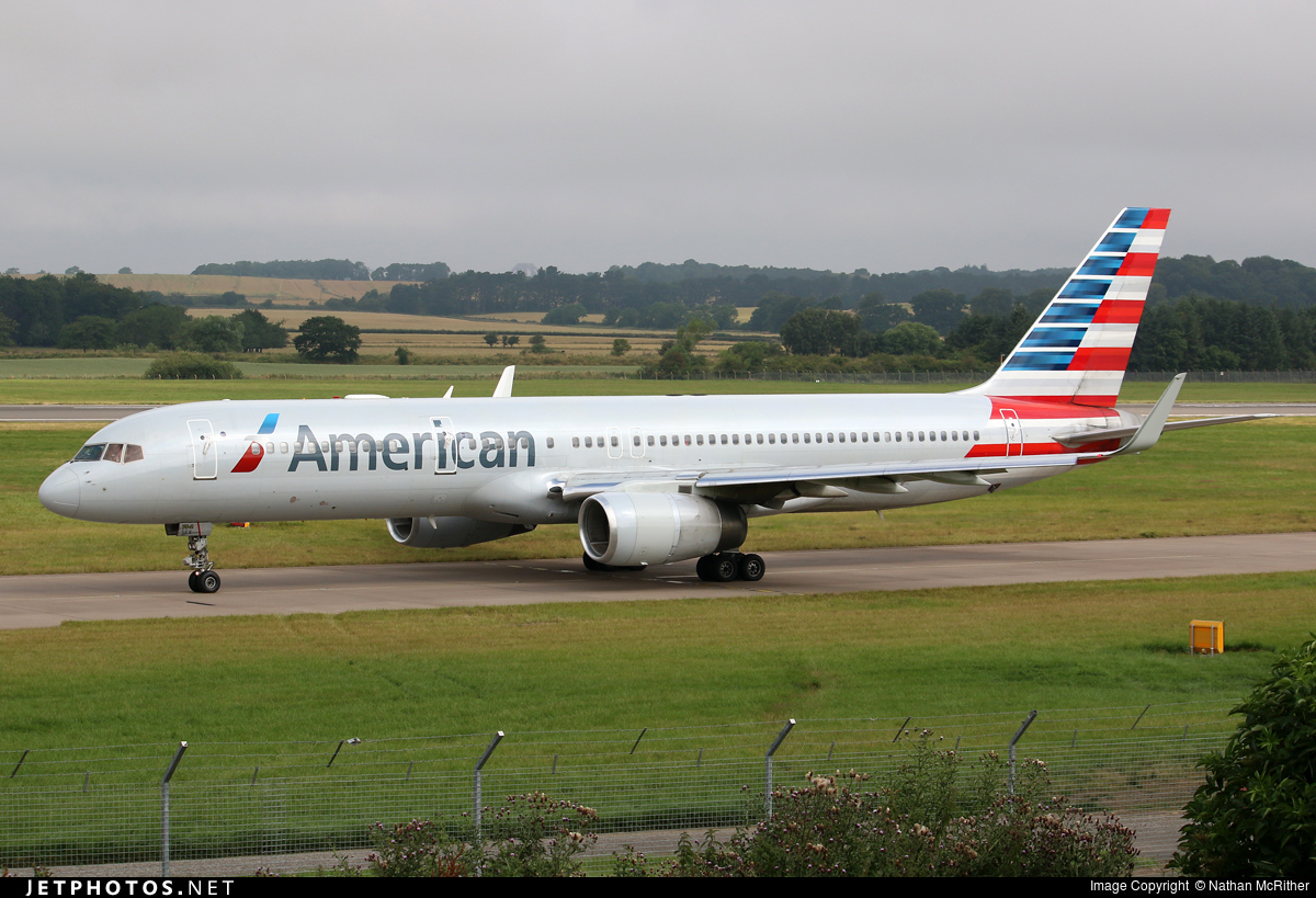 N189AN | Boeing 757-223 | American Airlines | Nathan McRither | JetPhotos