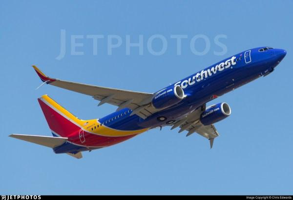 N8547v Boeing 737-8h4 Southwest Airlines Chris Edwards