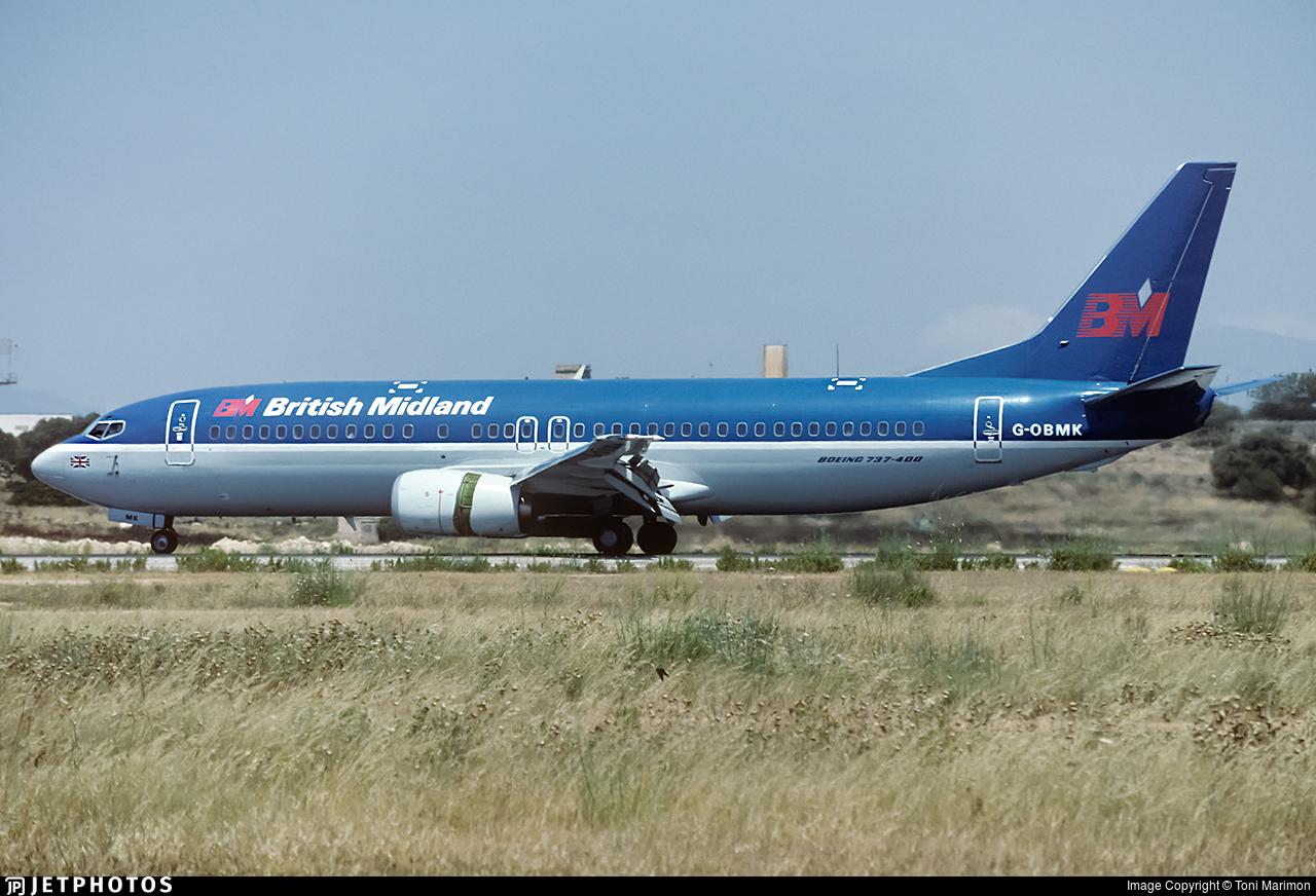 G-OBMK | Boeing 737-4S3 | British Midland | Toni Marimon | JetPhotos