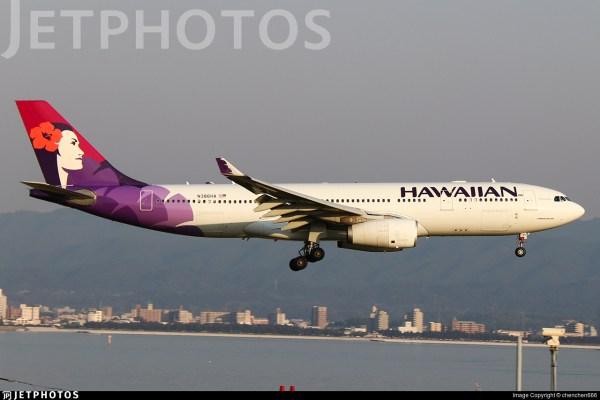 N386ha Airbus A330-243 Hawaiian Airlines Chenchen666