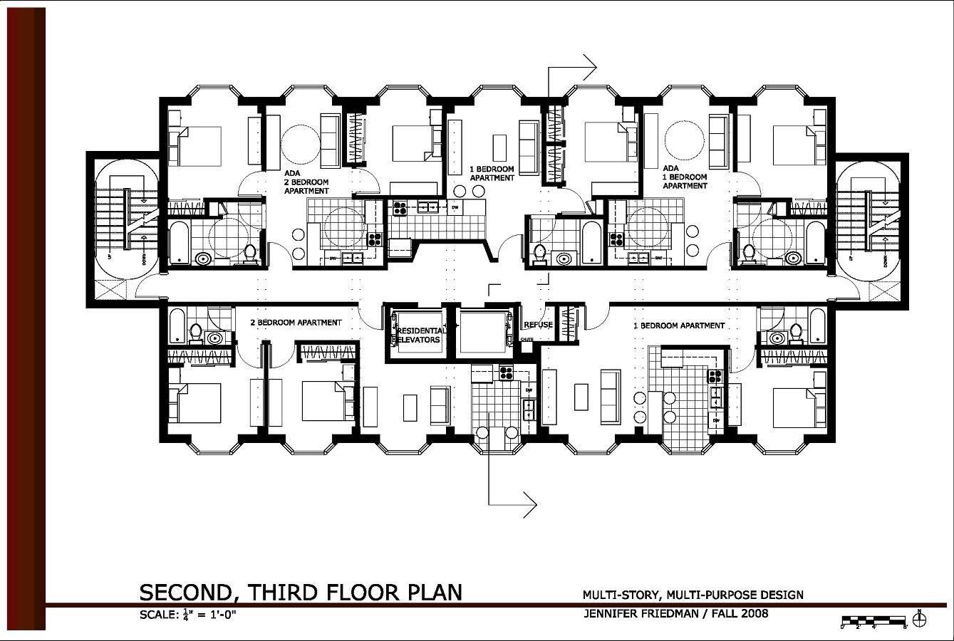 Small Apartment Complex Design