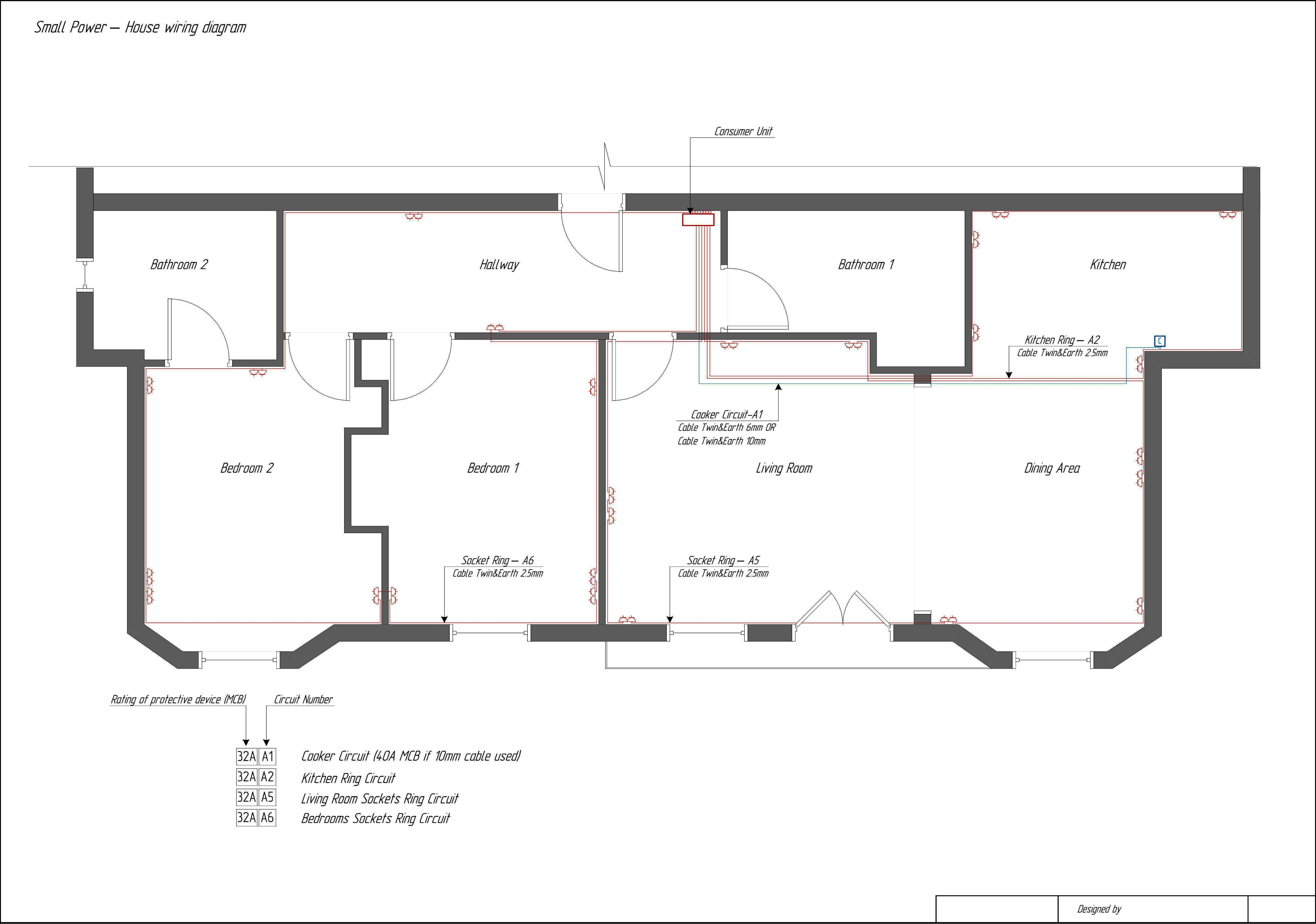 Single Line Diagram Electrical House Wiring House Wiring Diagram