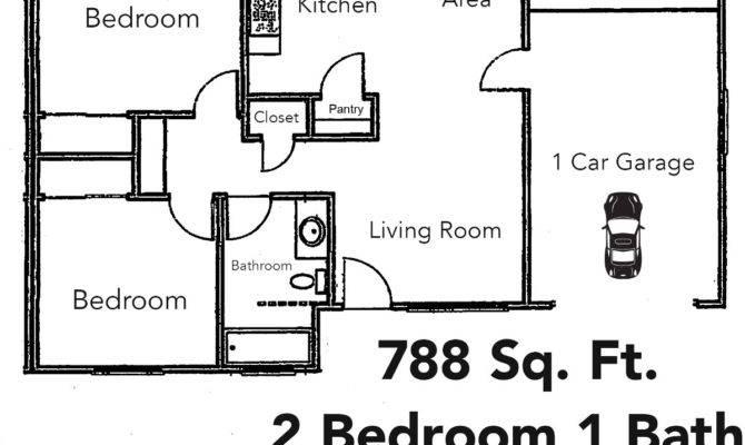 12 1 Bedroom 1 Bath Floor Plans To Complete Your Ideas