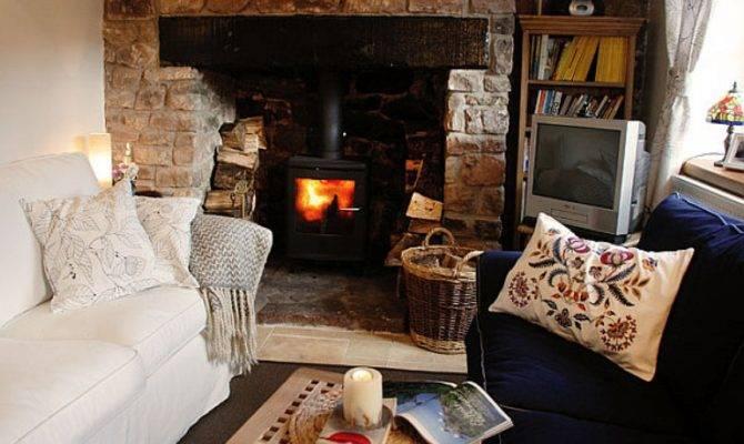 Cottage Living Room Ideas House Plans 153582