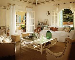 Country Cottage Living Room Ideas Decobizz House Plans #21071