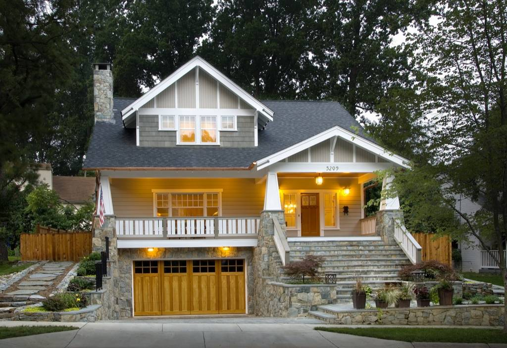 Craftsman Style House Plans Anatomy Exterior House Plans 132849