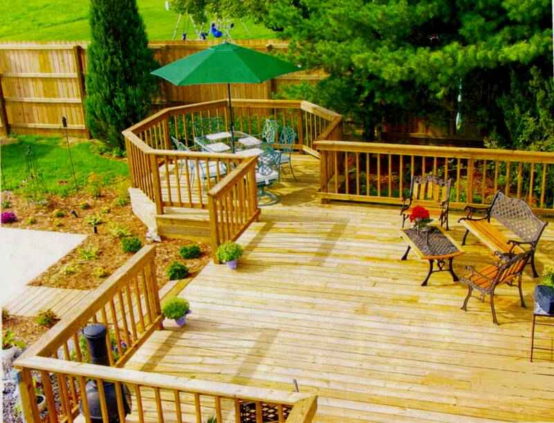 design your own deck composite wood
