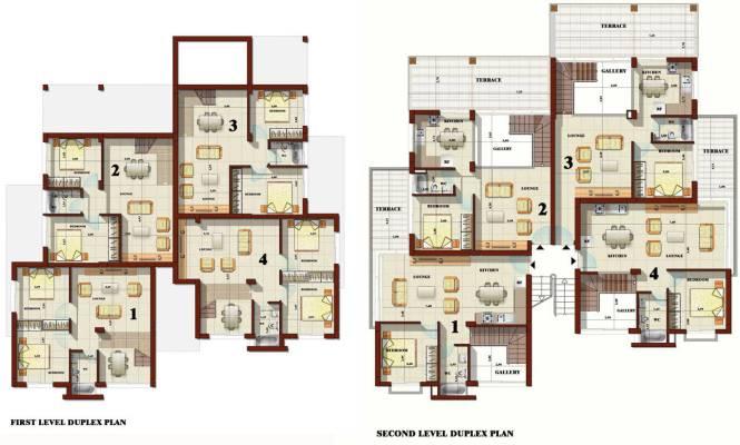 Duplex Apartment Plans Modern House