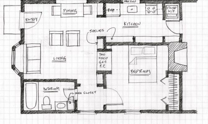 Floor Plan Square Foot Garage Apartment House Plans 73299