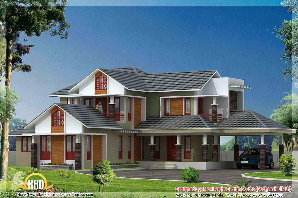 New Model House Plan In Kerala Model Home Plans Ideas Picture
